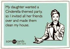 Cinderella party- this is the best idea EVER!!