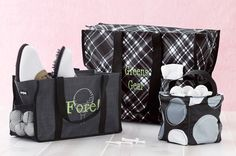 Some great thirty one totes!!!  Www.mythirtyone.com/tabethapea