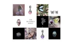 Get ready for the springtime butterfly trend! Be inspired by the colors, movements and gracefulness of these beautiful winged creatures in the #PANDORAmagazine pandora magazin, butterfli trend, springtim butterfli