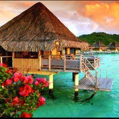 Bora Bora.... I would never leave !