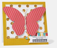 Free to Be Me: Butterfly Card #CTMH
