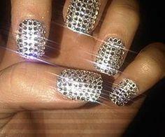 Bling, bling, bling nails!