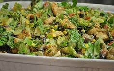 Chipotle Chicken Cajun Salad