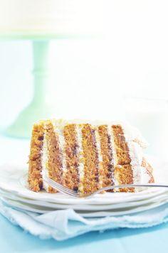 Sugar & Spice Delight Cake - spiced pumpkin cake meets cinnamon sugar spread meets Cinnabon cream cheese frosting
