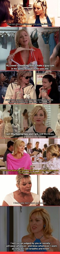 "The 21 Best Things Samantha Jones Ever Said On ""Sex And The City"""