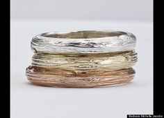 Love these twig rings.