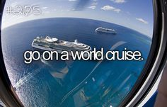 Just a cruise would be nice