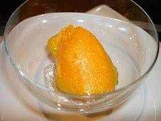 Mandarinen-Sorbet