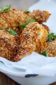 Cornflake Chicken #chicken #recipe #dinner #friedchicken