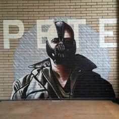 Verborgen graffiti-k