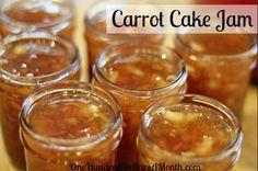 How To Make an Easy Carrot Cake Jam