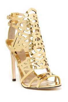 B Brian Atwood Laconica Cutout Dress Sandal