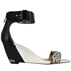Black and White @SamEdelman ankle strap wedge. Find it here: http://www.townshoes.com/brands/sam-edelman/?all=true