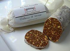 Salame de Cioccolato. Chocolate with a great crunch!