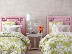 Girl twin beds