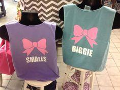 Custom Sorority Big Little Comfort Color tshirts by TheShirtPlace, $19.00