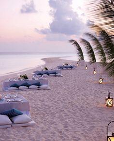 """Say """"I do"""" where white sand meets endless ocean at @Mandy Dewey Seasons Resorts Maldives."""
