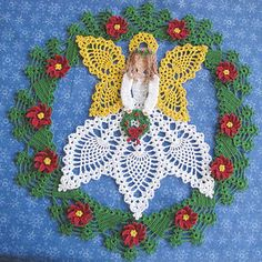 Tidings of Joy Doily