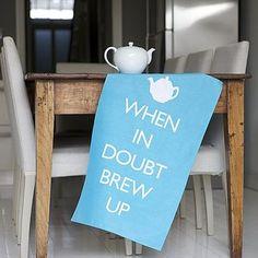 When in doubt...
