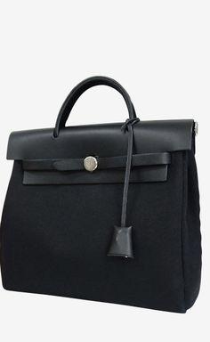 Hermès Black Backpack   VAUNTE
