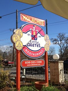 Great Czech-German food in the Hill Country of Texas