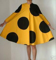 mod polkadot dress