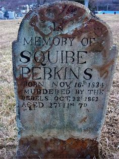 Our Own History: Tombstone Tuesday - Murdered by the Rebels #genealogy #familyhistory