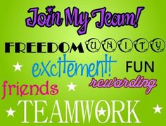 Join My Amazing Team! Earn extra income!  Contact me for details.  www.brandiswickless.com (916) 672-7234