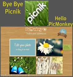 AWESOME new photo editing to replace Picnik! Welcome to PicMonkey!