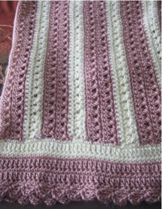 #FAN-tastic Friday Week 2 submission by Patricia Tripani #patternparadise #crochet #blanket #afghan