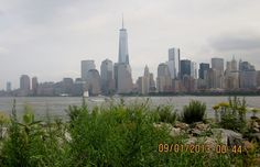 The view from Liberty State Park, Jersey City, NJ
