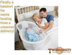 The latest innovation in bassinets is here! C-section moms meet the The HALO® Bassinest™ Swivel Sleeper, designed to make your recovery easier by creating a full 360 degree swivel away from your bed as you move in and out of bed. Learn more about great gear like this in the 2014 Baby Gear Guide edition of Multiplicity!