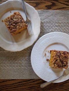 Did someone say gluten free pumpkin pie coffee cake?!!!