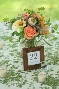 garden wedding table.