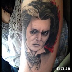 Tattoos on pinterest cameo tattoo tattoo ink and for Sweeney todd tattoo