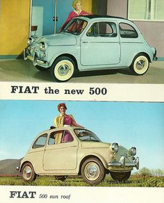 My all time favourite car!!!  500 in America, late fifties