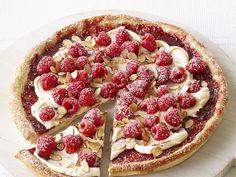 Raspberry-Almond Pizza Recipe