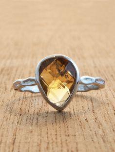 Sunflower $495 - citrine | Unique Engagement Rings, Conflict-Free Diamonds & Gemstones | Dana Walden Bridal Famili Jewel, Style Wardrob, Gemston Ring, Engagement Rings