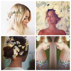 Currently trending: flower crowns