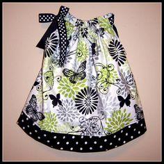 easy dresses to sew for 50+, pillowcas dress, pillowcase dresses, fall dress, craft idea, babi girl, baby dresses, sewing girls clothes, girl mod