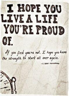 --F. Scott Fitzgerald #life