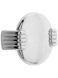 Simple streamline knob for Art Deco cabinets or furniture