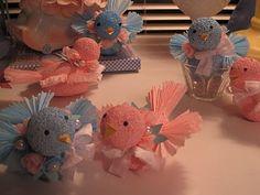 Pink & Blue Birds