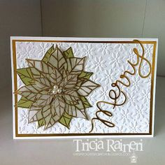 The Speckled Sparrow christma card, stampin christma, speckl sparrow, joy christma