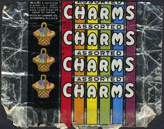Charms Co - Assorted Charms candy wrapper - 1940's 1950's by JasonLiebig, via Flickr
