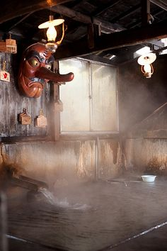 A hot spring hotel