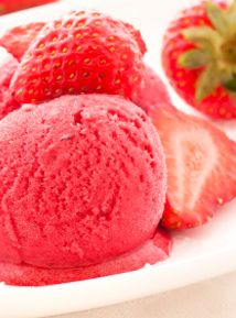 Strawberry Italian Ice