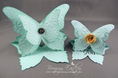 addINKtive designs: Eeeeek! I'm so Excited! I made a Butterfly Easel Card using MDS and an E-Cutter