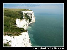 Places I have been - White Cliffs of Dover (ferry crossing from Calais, France)