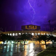 There's no place like Tiger Stadium. #LSU